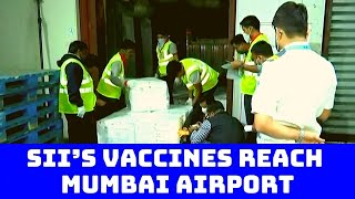 SII's Vaccines Reach Mumbai Airport For Shipping To Bahrain, Colombo | Catch News