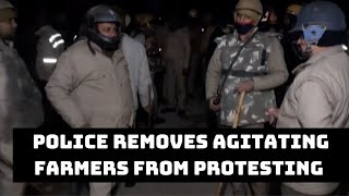 Police Removes Agitating Farmers From Protesting Site In UP's Baghpat | Catch News