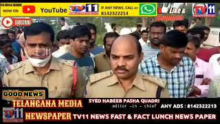 MURDER OF EX COUNCILOR PULI SWAMY AT HYDERABAD NATIONAL HIGHWAY JANAGAAM