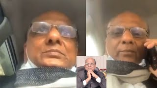 Viral video Dr KK Aggarwal wife gets angry as he gets vaccinated alone | wife scolding on FB live
