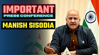 LIVE | Reopening 9th, 11th and Degree Colleges, Polytechnics & ITIs for Practicals | Manish Sisodia