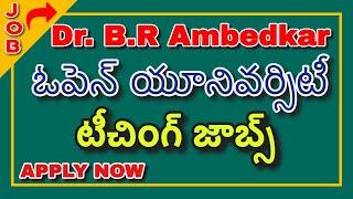 ????latest Jobs Notification 2020 & Dr.b.r Ambedkar Open University Latest Job Notification 2020 Urgent