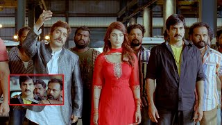 Yevanda Tamil Movie Scenes | Ravi Teja Hilarious Twist to Ashutosh Rana