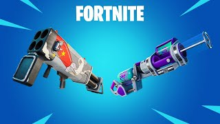FORTNITE  Chug Cannon and Burst Quad Launcher UPDATE LIVE (Fortnite Battle Royale)