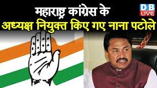 Maharashtra congress के अध्यक्ष नियुक्त किए गए Nana Patole |#DBLIVE