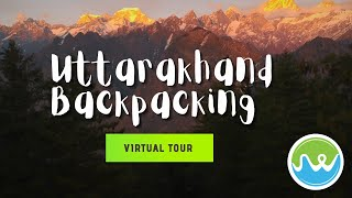 Uttarakhand Backpacking 2020 Highlights | Travel Diaries | Virtual Tour | Travel Vlogs @JustWravel