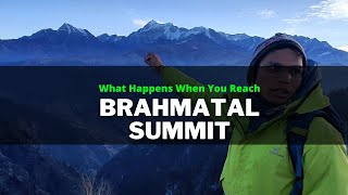 What Happens When You Reach Brahmatal Summit? Feat. Abhishek Negi