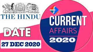 27 December Current Affairs   Formula UPSC