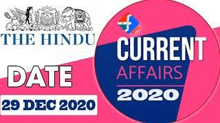 29 December Current Affairs  Formula UPSC