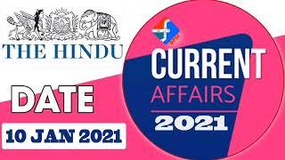 Current Affairs | 10 January 2021| Formula UPSC