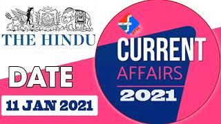 Current Affairs | 11 January 2021 | Formula UPSC