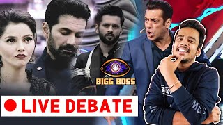 Bigg Boss 14 LIVE DEBATE Weekend ka Vaar | Rubina Rahul Devoleena Rakhi Abhinav Nikki | BB 14