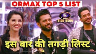 Bigg Boss 14 Ormax Popularity TOP 5 | Is Baar Ki Tagdi List, Shocking Badlav | BB 14 Update