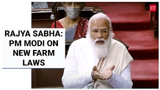 PM Modi defends new farm laws in RS address, quotes Manmohan Singh to question opposition 'U-turn'