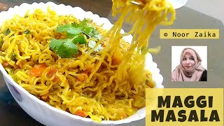 मैगी बनाने का तरीका | Maggi Masala Recipe | Maggi Recipe in hindi | Noor Zaika Recipe
