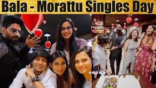 Bigg Boss Bala and Aajeedh Celebrate Morattu Singles Day