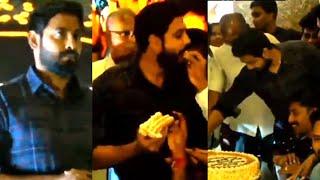 Aari Arujunanயுடன் Cake வெட்டி கொண்டாடிய ரசிகர்கள் | Aari Arjunan Award Function Video | bigg boss 4