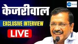 LIVE   Arvind Kejriwal Latest Interview on @Zee 24 Kalak   Must Watch