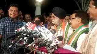 राज्यसभा का नामांकन भरने केटीएस तुलसी पहुंचे रायपुर