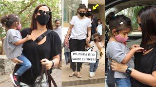 Neha Dhupia And Soha Ali Khan Seen Together Doing Their mommy duties | Mehr Bedi and Inaaya Khemu