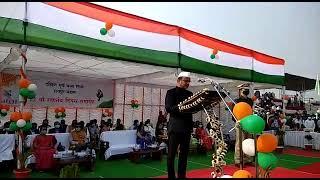 रेलवे के अधिकारियों ने किया झंडारोहण - मनाया गणतंत्र दिवस