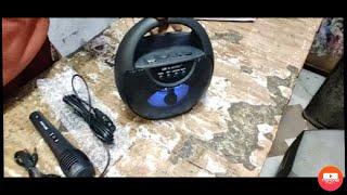 Disco light | Wireless speaker, mic with LED light , BT USB TF card FM AUX etc.. Delhi - 84 |