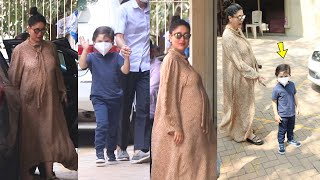 Mom-to-be Kareena Kapoor Khan spotted with son Taimur Khan, About To Delivery 2nd Baby Soon
