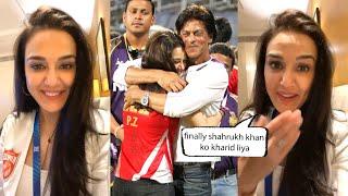 Preity Zinta Finally Talks About Shah Rukh Khan In Insta Live, Mujhe Finally Mera Veer Mil Gaya