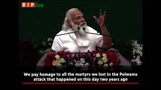 PM Narendra Modi recites a poem from Mahakavi Subramaniya Bharathi