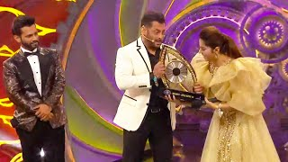 Rubina Dilaik Declared Winner Of Bigg Boss 14, Rahul Vaidya Runner Up | Bigg Boss 14 Grand Finale