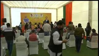 Press conference by Shri Arun Singh at NDMC Convention Centre, New Delhi