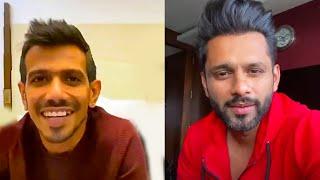 Rahul Vaidya Ke Live Chat Me Yuzvendra Chahal Ka Dhamaakaa