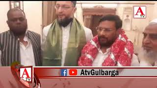 Ilyas Seth Baghban AIMIM Joining  Program at Darussalam Hyderabad