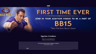 Breaking Bigg Boss 15 Ke Auditions Shuru, FULL Details, Voot Select, First Time Ever