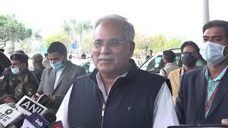छत्तीसगढ में एमएसपी मिल रही है दिल्ली में किसान एमएसपी मांग रहे हैं - भूपेश बघेल मुख्यमंत्री CG