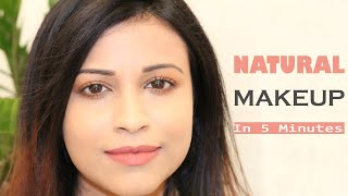 Everyday Natural Makeup Look In 5 Minutes With 6 Products