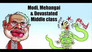 Modinomics + mehengai = melancholy for the middle class.