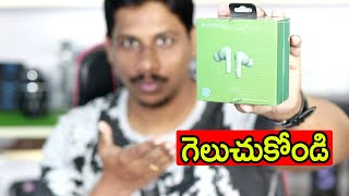 Noise solo buds With ANC Unboxing Telugu Tech tuts