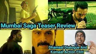 Mumbai Saga Teaser Review, Kya Once Upon A Time In Mumbai Wala Magic Chalega, Surya Reaction