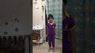Aarna Gupta Gr 1B, Martial Art #StraightKick #ThusKick #Jumpingjack #TigerPunch  #FaceDefense BHIS