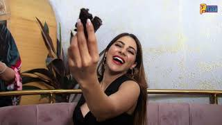 Nikki Tamboli Enjoying Success Cake Cutting After Bigg Boss 14 - Fun Moments
