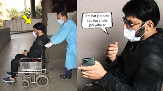 Why was Kapil Sharma in a wheelchair at Mumbai airport, Angry On Media For Taking Pics