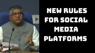 Centre Announces New Rules For Social Media Platforms To Curb Misuse | Catch News