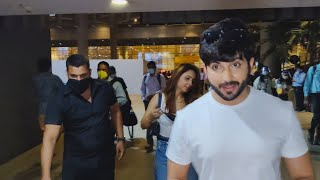 Dheeraj Dhoopar With Wife Spotted At Airport Arrival