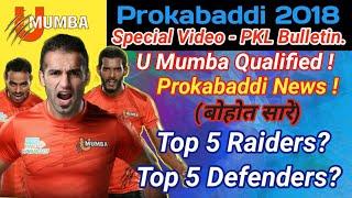Prokabaddi 2018 Top Updates || PKLBulletin Ep1 || By KabaddiGuru