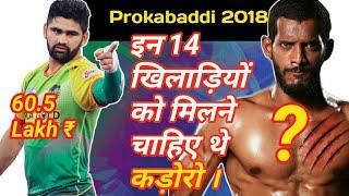????Top Cheap buys of Prokabaddi 2018 !! | By KabaddiGuru