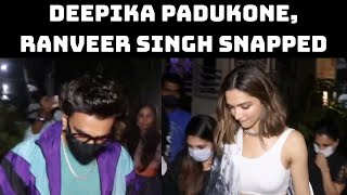 Deepika Padukone, Ranveer Singh Snapped In 'Mayanagari' | Catch News
