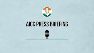 LIVE: Congress Party Media Byte by Shri Pawan Bansal at AICC HQ