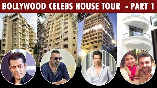 Bollywood Celebs House In Mumbai | Akshay, Hrithik, Sanjay Dutt, Shilpa Shetty, Salman, Shahrukh