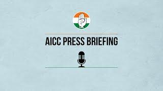 LIVE: AICC Press Briefing by Abhishek Manu Singhvi at AICC HQ
